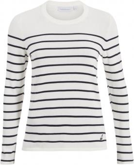 Peak Performance Stripe   Pullover Seashell  Damen